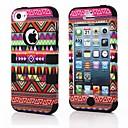 New Exclusive Aztec Tribe Retro Vintage Mønstret tilfelle dekke Full Body for Apple iPhone 5C