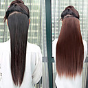 High Temperature Resistance 20 Inch Long Straight 5 Clip Hairpiece Extension 5 Colors Available