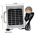 36-LED White Light 2W Solar Panel Solar Mobile Phone Charger Lighting Portable System