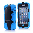 Alto Impacto Dirt Choque Caso Proof Cover + porta-clip para iPhone 5C