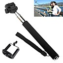 Handheld Self-Timer Camera Monopod with iPhone/ Phone Telescopic Extendible Selfprotrait Holder