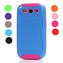High Impact Credit Card Wallet Combo Stand Case Cover  for Samsung Galaxy S3 i9300