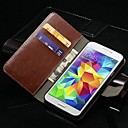 Vintage Wallet PU Leather Case for Samsung Galaxy S5 I9600