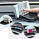 silikone bil mobiltelefon stå pad til iPhone (sort)