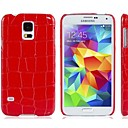 Crocodile Skin Plastic Case for Samsung Galaxy S5 I9600
