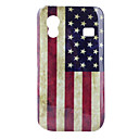 US Flag Pattern Protective Polycarbonate Case for Samsung S5830