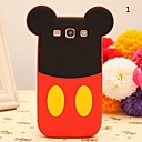 Cute Cartoon Doll Pattern Silicone Soft Case for Samsung Galaxy S3 I9300 (Assorted Color)