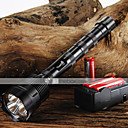 LED Flashlights LED 5 Mode 3800/3000 Lumens Adjustable Focus / Nonslip grip Cree XM-L T6 18650Camping/Hiking/Caving / Everyday Use /