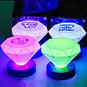 Noite LED Cone Forma Colorido ABS Light (cor aleatória)