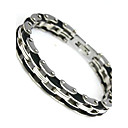 Buy Stainless Steel Bracelet Bangle 210mm Men's Jewelry Strand Rope Charm Chain Wristband Christmas Gifts
