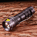 Buy Lights LED Flashlights/Torch / Handheld 800 Lumens 5 Mode Cree XR-E Q5 14500 Adjustable Focus Waterproof