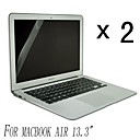 [2-Pack] High Quality Invisible Shield Piszok Proof képernyővédő fólia MacBook Air 13,3 hüvelykes
