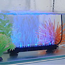 6Inch Aquarium Fish Tank Blue and White LED Light Airstone Bubbler Lighting