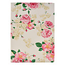Rose Flower Pattern PU Leather Full Body Case with Stand for iPad 2/3/4