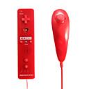 2-i-1 Motionplus fjärrkontroll och Nunchuk för Wii / Wii U fri frakt