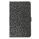 Diamond Grid Pattern PU Leather Face med PC Cover Full Body Veske til Samsung Galaxy Tab PRO 8.4 T320