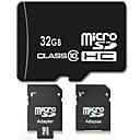 32 GB Class 10 SDHC TF Micro SD-Flash-Speicherkarte mit SD Adapter Hochgeschwindigkeits echte