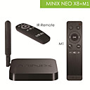 minix neo x8 + m1 quad core tv box + 2,4 g draadloze muis zes-assige fly airmouse met xbmc, 2g 8 g