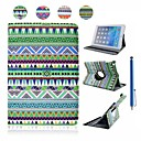 Affaire Full Body habitudes de vent national en cuir PU avec support et capacité Pen pour iPad Air (couleurs assorties)