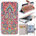 Mysterious Pattern Clamshell PU Leather Full Body Case with Card Slot for iPhone 4/4S