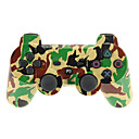 camuflaje de doble descarga 3 bluetooth v4.0 regulador sin hilos para ps3
