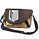 Buy Bag Inspired Attack Titan Cosplay Anime Accessories / Backpack Brown PVC Male Female
