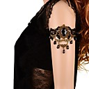 Fashion Bead Gem Gothic Style Lace  Armlet