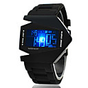 Men's Watch Sports LED Stealth Aircraft Silicone Strap