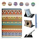 tribal tæppe mønster Taske til iPad mini 3, iPad Mini 2, iPad Mini (assorterede farver)