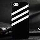 3D White Twill Painting Relievo PC Hard Case for iPhone 5/5S
