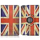 la pleine cas de corps de modèle de drapeau britannique avec support et fente pour carte de 8,4 sm-t700 samsung galaxy tab