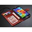 fashion® роскошь кошелек кожаный чехол с держателем карты для Samsung Galaxy S5 i9600