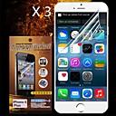 Защитный протектор экрана HD для iphone 6 плюс (3шт)
