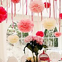 8 inch Paper Flower Party Decorations - Set of 4 (More Colors)