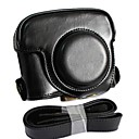 Buy Dengpin® Leather Detachable Protective Camera Case Bag Cover Charging Style Shoulder Strap Canon PowerShot G16
