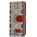 Decorative Design Pattern Oxhide Character Retro PU Leather Case for Samsung Galaxy S4 I9500