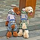 moda stile britannico vestiti siamesi con felpa con cappuccio per animali domestici cani (colori assortiti, taglie)