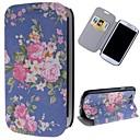 schönen Blumen-Muster PU-Leder Ganzkörper-Case mit Ständer und Card Slot für Samsung Galaxy S3 i9300
