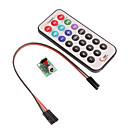 Infrared Remote Control Module +HX1838 Receiver + Remote Control Set  (For Arduino) (1xCR2025)