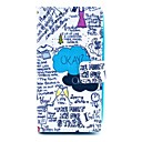 Okay Okay Letter Pattern PU Leather Full Body Cover with Card Slot for Nokia Lumia N630