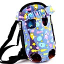 Lovely Purple Fish Pattern Front Backpack Bag Carrier for Pets Dogs (Assorted Sizes)