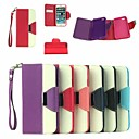Buy Leather Wallet Case Flip Stand Cover Card Holder iPhone 6 Plus (Assorted Colors)