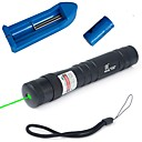 LT-885 Green Laser Pointer (4MW, 532nm, 1x16340, Black)