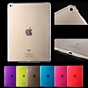 Ultra-thin 0.3mm Transparent TPU Soft Case for iPad Air 2 (Assorted Colors)