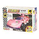 27pcs Racer auton rakentamisen korttelin koulutus-lelut (random kuvio)