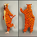 Smart Tiger Polar Fleece Voksen Kigurumi Pyjamas