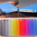 0.3mm Ultrathin Scrub Back Case for iPhone 5/5S (Assorted Color)