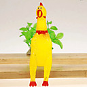 Screaming Chicken Style Rubber Toy for Dogs