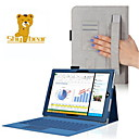 Shy Bear™ Hand Holder Style Leather Cover Case for Microsoft Surface Pro 3 12