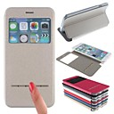 Gold Sand Design TPU New Smart Luxury Flip Leather Cover for iPhone 6 Plus(Assorted Colors)